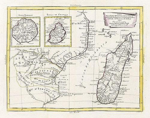 Afrika: Abessinien; Guinea; Ostküste mit