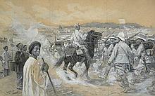 Gerlach, Otto: Szene aus dem russisch-japanischen Krieg