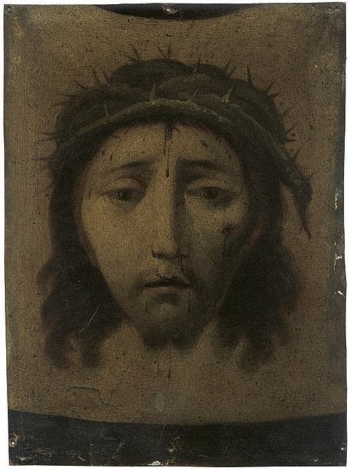 Kolonial Spanisch: 18. Jh. Das Schweisstuch der hl. Veronika