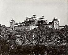 Bourne, Samuel: Sopur, Kashmir (No. 994); The Mausoleum of Akbar (Secundra) (No. 1250)