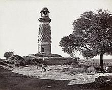 Bourne, Samuel and Unknown: Ruins of Fatehpur Sikri (No. 1278); The Fort of Trichinopoly from the East