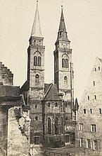 Böttger, Georg: Early views of Nuremberg: St. Sebaldus