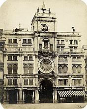 Bonaldi, Francesco: View of Torre dell'Orologio, Venice