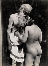 Galdi, Vincenzo: Bearded man and young nude woman