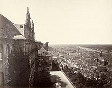 Heidelberg: View of Heidelberg from the castle