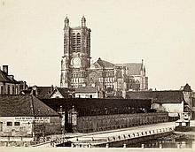 Bisson frères: View of Troyes