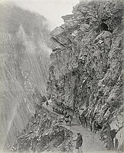 Afghanistan: Views of the Khyber Railway and mountain passes