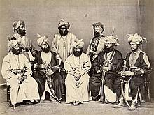 Afghanistan: Views of Peshawar, Abbottabad and group of Peshawawar Chiefs