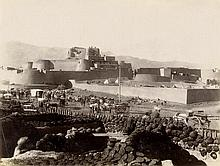 Second Anglo-Afghan War: Various views of Jamrud Fort near Khyber Pass and surroundings