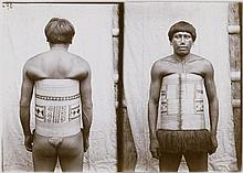 Amazonia: Frontal and side/rear portraits of indigenous people of the Amazon region