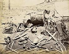 Second Anglo-Afghan War: Images showing troops and landscapes during the Second Anglo Afghan War