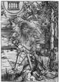 Dürer, Albrecht Johannes, das Buch verschlingend
