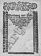 Karl V. von Spanien: Werbung der Botschafften des durchleüch... 1519