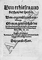 Zwingli, Ulrich: Von erkiesen und freyheit der speisen. 1522