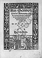 Sermon Von der Anbeetung, Ain: Augsburg, Melchior Ramminger, 1522