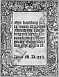 Korn, Gallus: Eyn handlung Prediger Munch Nurmberg. 1522