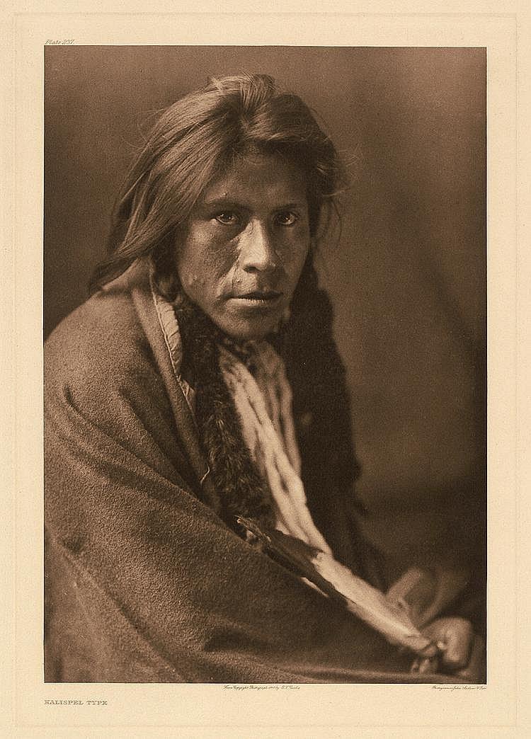 Curtis, Edward Sheriff: Kalispel Type; Arikara Medicine Ceremony
