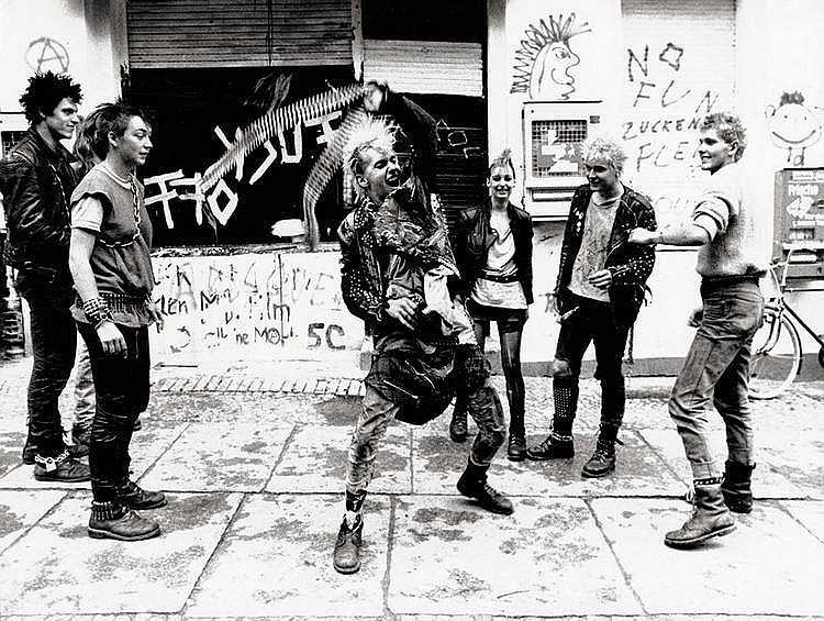 Krolow, Wolfgang: Punk Rockers, Berlin