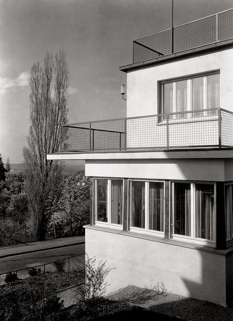 Lazi, Adolf: Details of Weißenhof Siedlung, Stuttgart