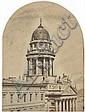 Ahrendts, Leopold: Deutscher Dom, Berlin, view of the tower