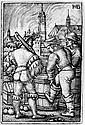 Beham, Sebald: Die Schildwache bei den Pulverfässern