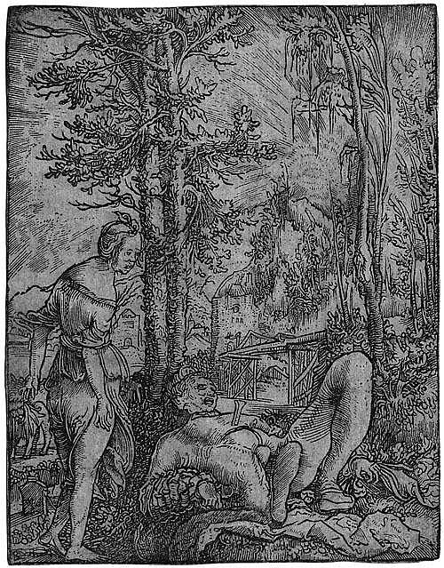 Huber, Wolf: Pyramus und Thisbe