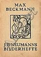 Neumann, I. B.: Max Beckmann (Neumanns Bilderheft, 1922)