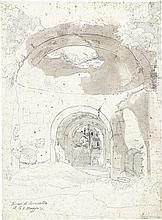 Wiegmann, Rudolf: Blick in die Thermen des Caracalla in Rom