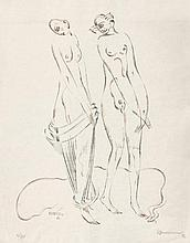Kampmann, Walter: Zwei weibliche Akte