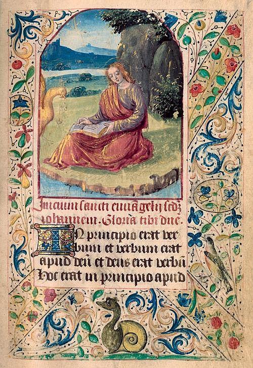 Maître de Martainville: Horae Beatae Mariae Virginis. Lat.-Frz. Hs. auf Pgt.