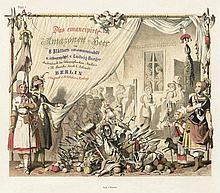 Burger, Ludwig.: Das emancipirte Amazonen-Heer