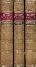Bürger, Gottfried August: Gedichte [und:] Homer