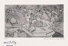 Grundig, Hans: Bilderbuch (VA) + Vorzugsausgabe Katalog Lea Grundig