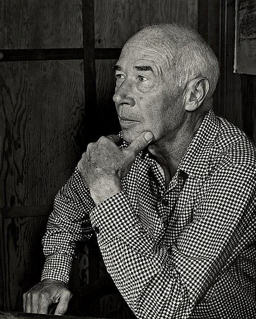 Miller, Henry - Porträtfoto mit Widmung 1957