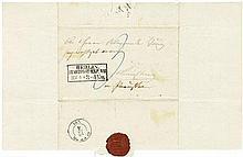 Arnim, Bettine von: Brief vom April 1854 an Alexander Jung