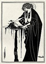 Wilde, Oscar und Beardsley, Aubrey: Salomé. Illustr. A. Beardsley