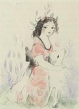 Jouhandeau, Marcel und Laurencin, Marie: Petit bestiaire (Illustr.: M. Laurencin)