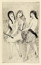 Bloch, J.-R. und Laurencin, Marie: Dix filles dans un pré