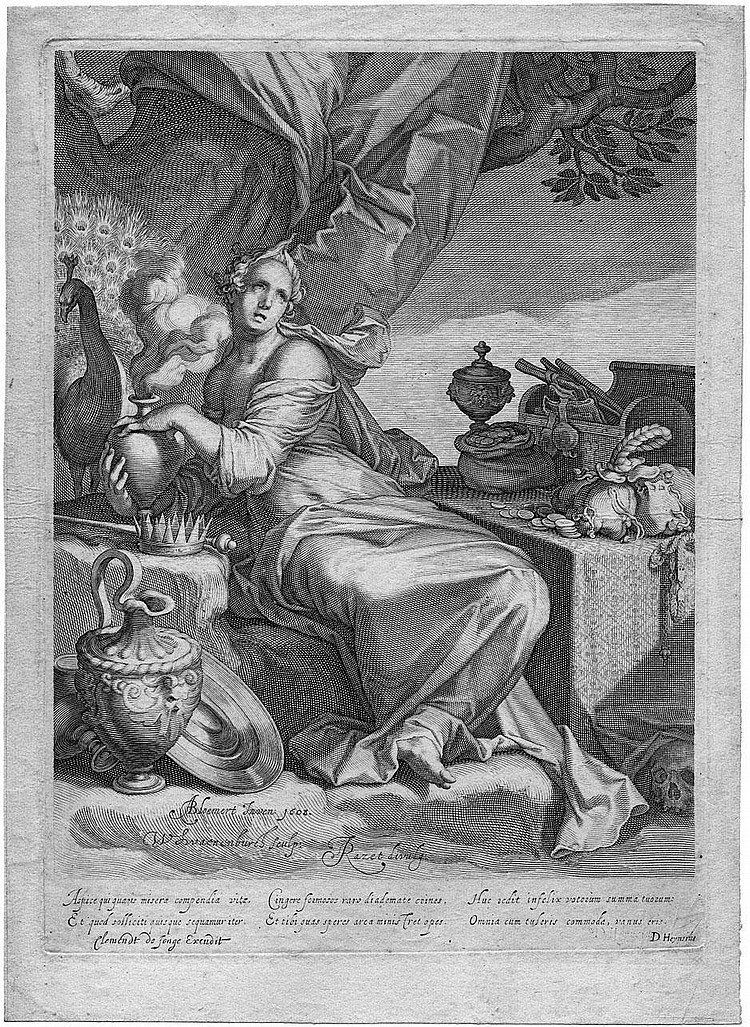 Swanenburgh, Willem van: Vanitas