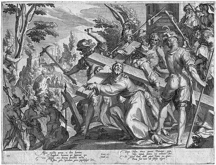 Swanenburgh, Willem van: Die Kreuztragung