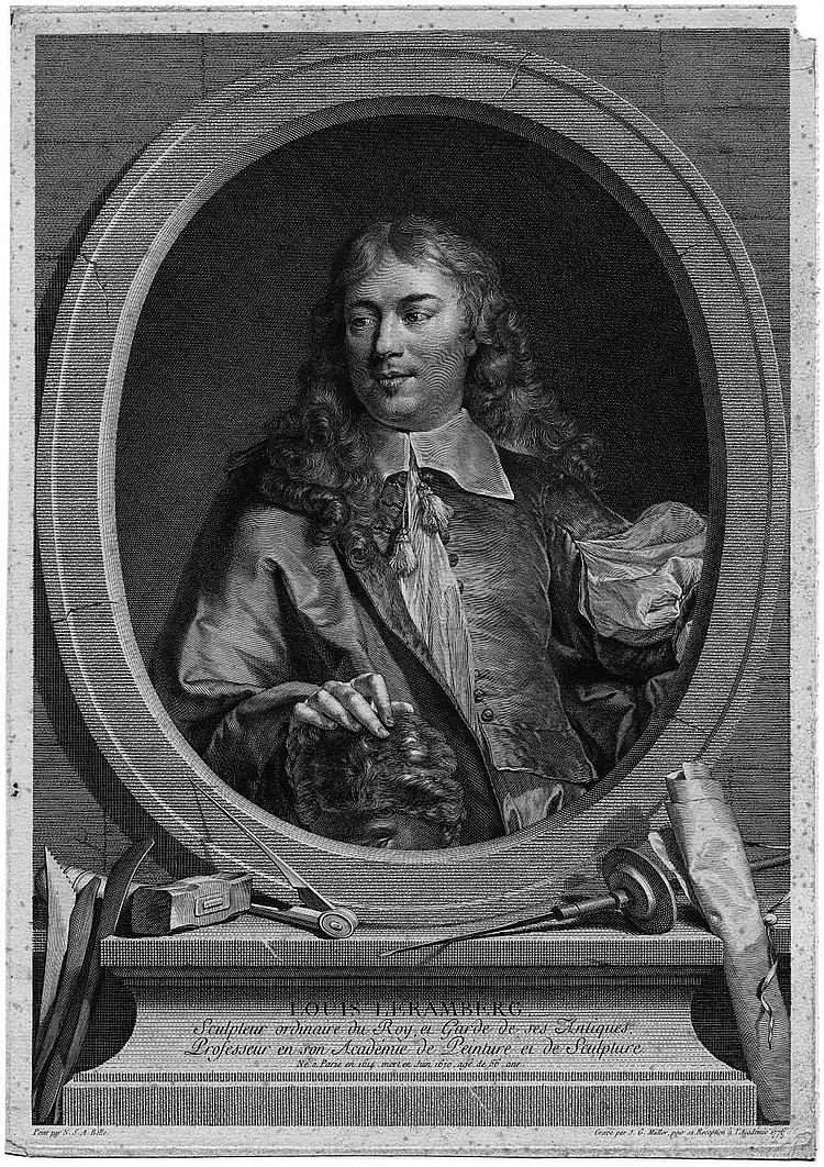 Müller, Johann Gotthard von: Bildnis Louis Leramberts