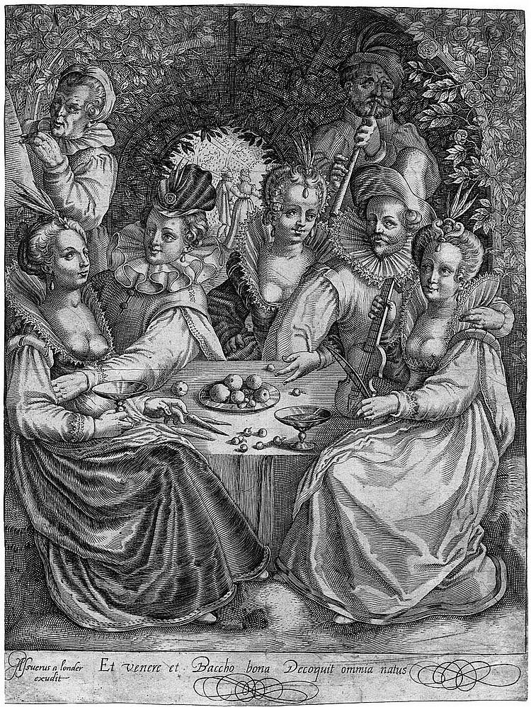 Londerseel, Assuerus van: Et venere et baccho bona Decoquit omnia natus