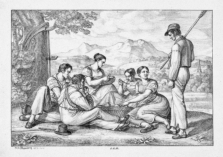 Rhomberg, Joseph Anton: Vier ländliche Szenen