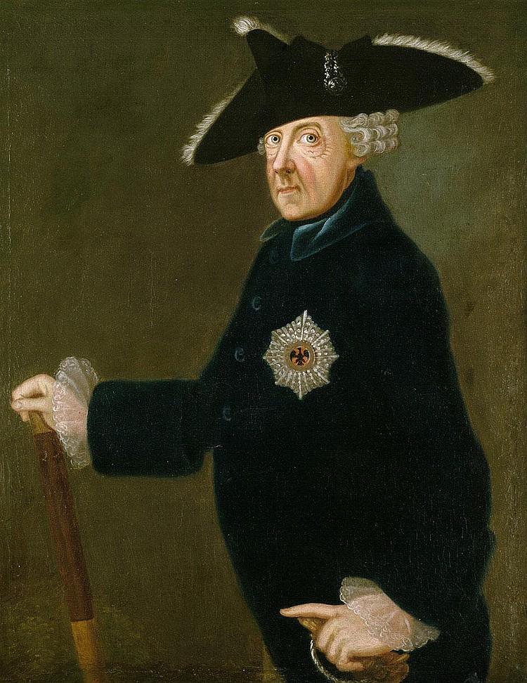 Franke, Johann Heinrich Christian: Bildnis Friedrich d. Gr.