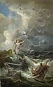Preller d. Ä., Friedrich - nach: Leukothea erscheint Odysseus im Sturm, Edmund Friedrich Kanoldt, Click for value