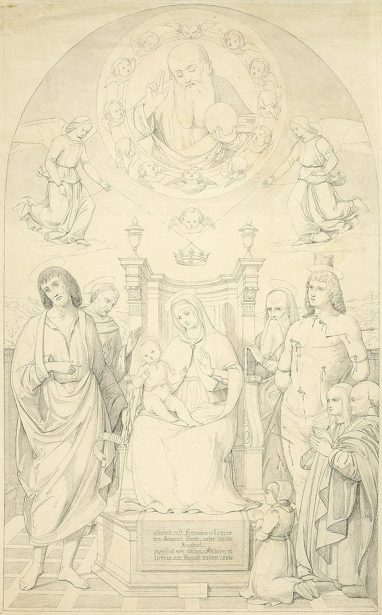 Ahlborn, August Wilhelm Julius : Sacra Conversazione