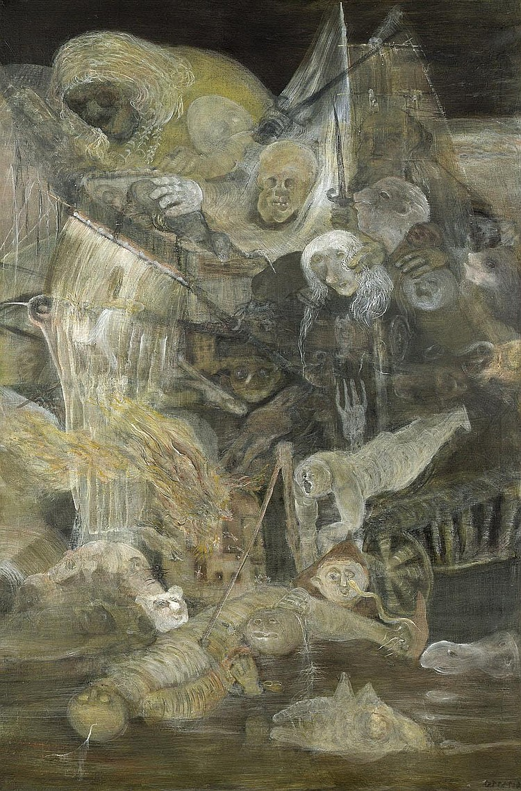 Otterson, Heinz: Apokalyptische Vision