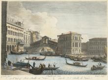 Canaletto, Antonio: View of Ponte Realto at Venice