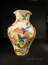 Chinese Qien Period Famille Rose Porcelain of Hexagonal