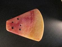 Chinese Red and Yellow Jade of Piece of Watermelon